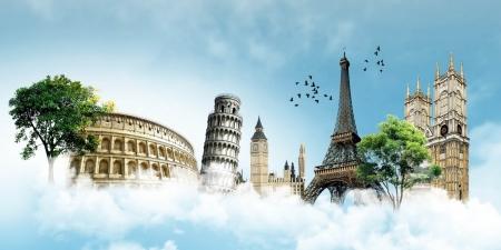 KONKURS PLASTYCZNY: Najsłynniejsze budowle w Unii Europejskiej