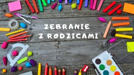 HARMONOGRAMZEBRAŃ Z RODZICAMI - 29-30.01.2020